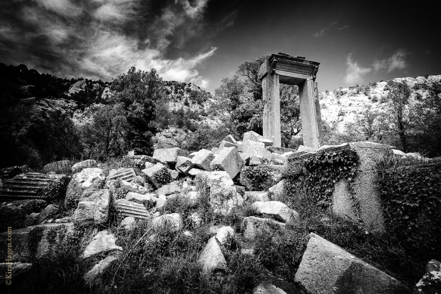 Termessos: Temple of Artemis